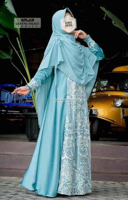 Queena Gown Palace By Gamis Amika Shopee Indonesia