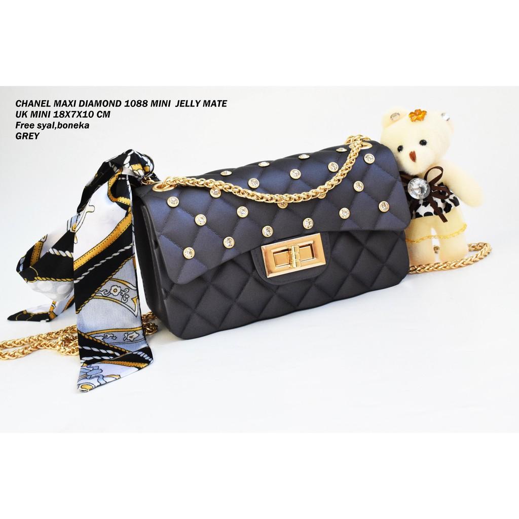Tas slempang MINI Chanel Metro Jelly Matte 946 1KG MUAT 2PIS UK 17X7X12 CM   0b5afa0090