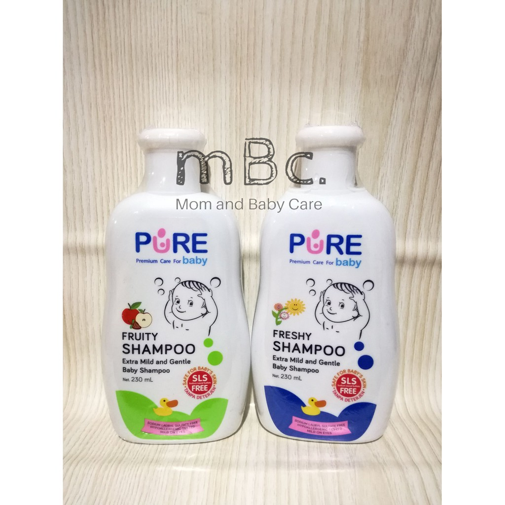 Morinz Pure Baby Shampoo Refill 450ml 2 Variant New Shopee Purebaby Buy 1 Get Free Fruity Indonesia