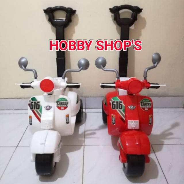 Shp Mv 616 Vespa Mini Mainan Vespa Anak Mainan Vespa Duduk Mainan