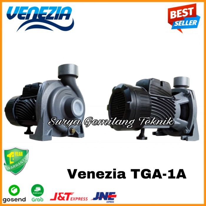 Pompa Centrifugal 1 HP 220Volt Venezia TGA 1A 1 5 Pompa Sirkulasi Air