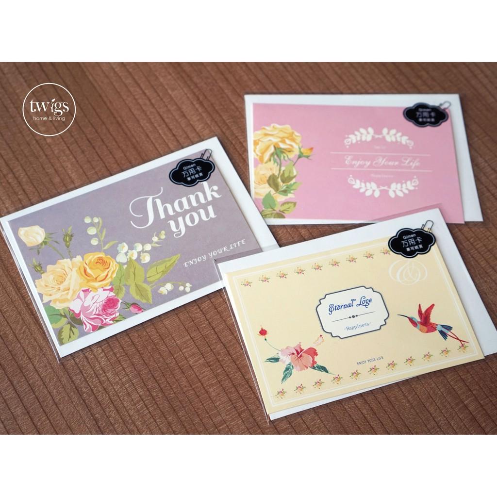 Greeting Card Desain Kartu Ucapan Kosong - kartu ucapan ...