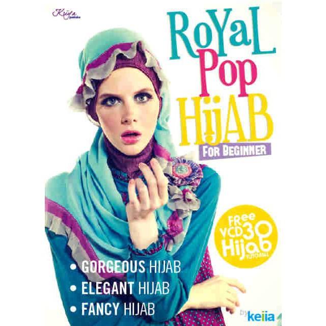 Buku Tutorial Hijab Royal Pop By Keiia Shopee Indonesia