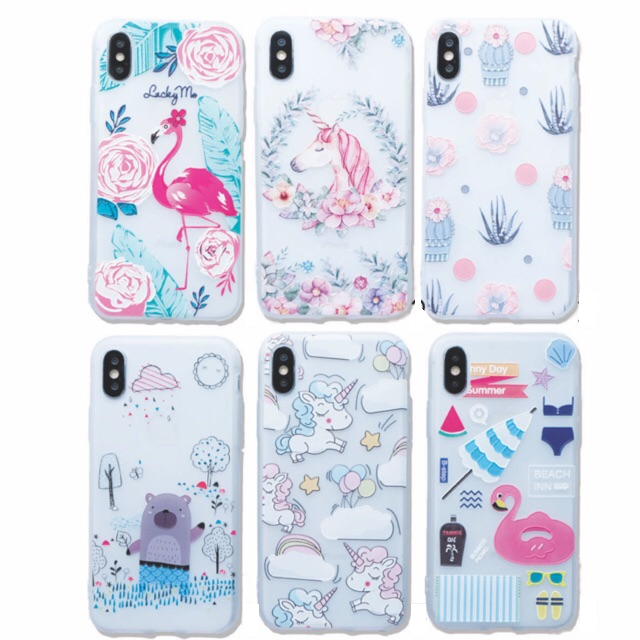 Squishy Case - soft case - full print - IPHONE 7 7+ 8 8+ OPPO F3 | Shopee Indonesia