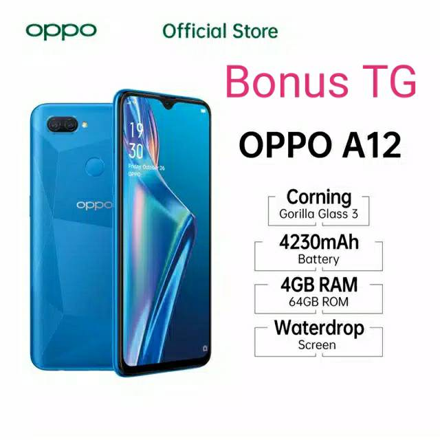 Oppo A12 4gb 64gb Kartu Credit Akulaku Kredivo Shopee Indonesia