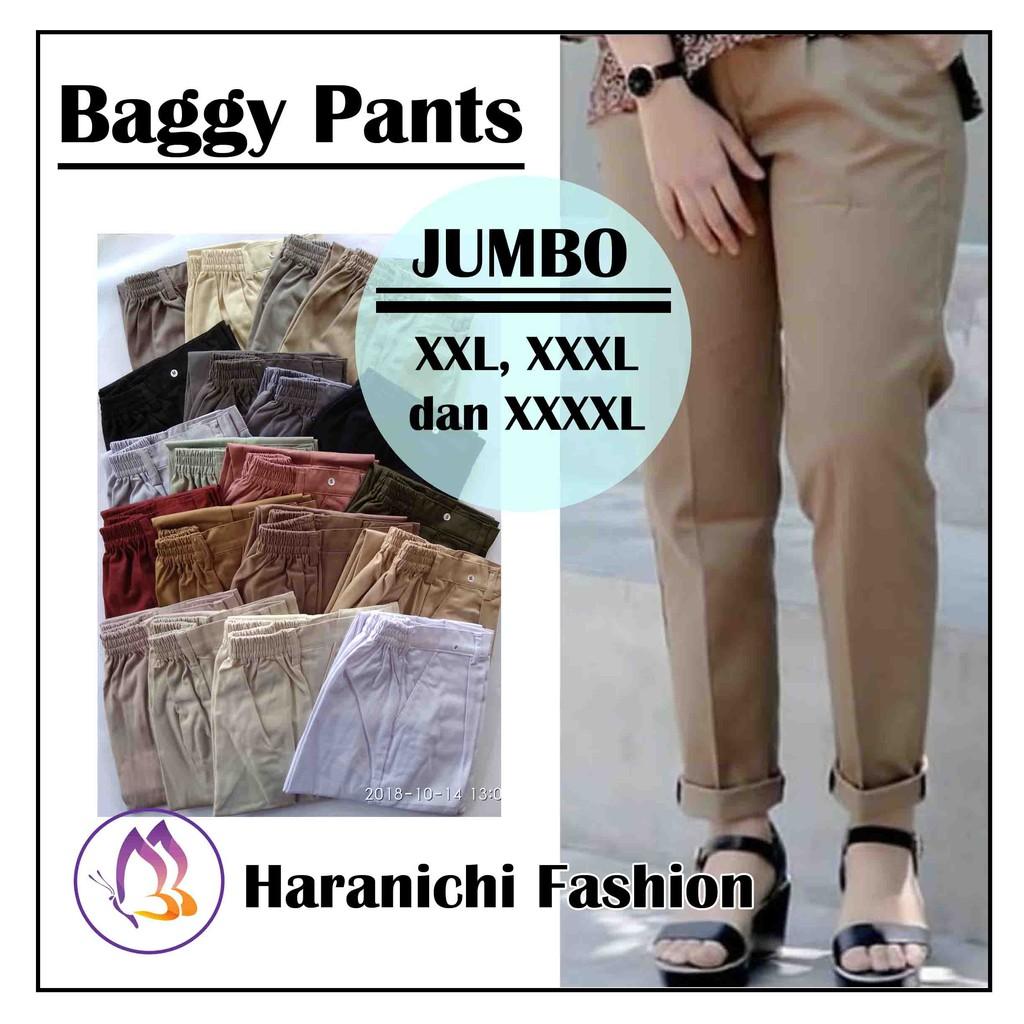 Baggy pants - cream  754de4556e