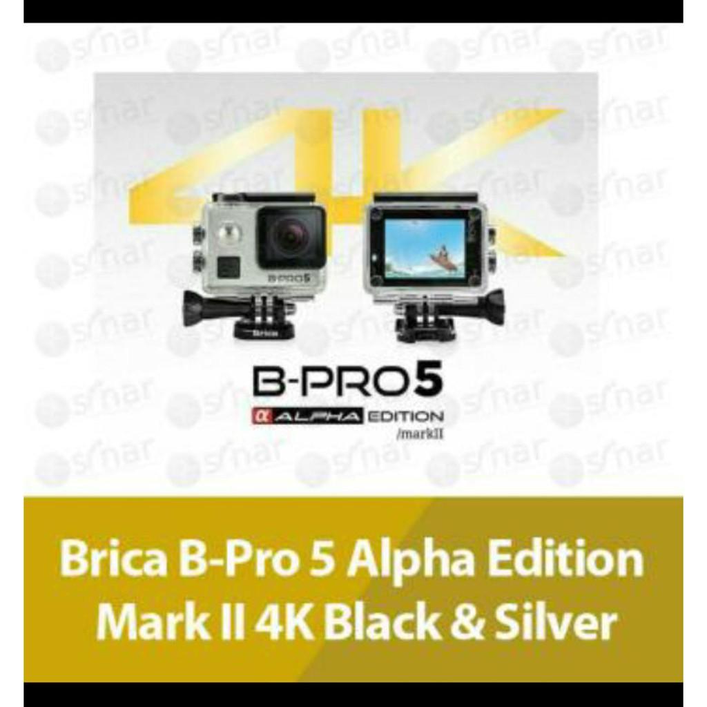 Brica B Pro 5 Alpha Edition Version 2 Ae2 Mark Ii 4k Action Camera Pro5 Iis Komplit Ae2s 2s Ae