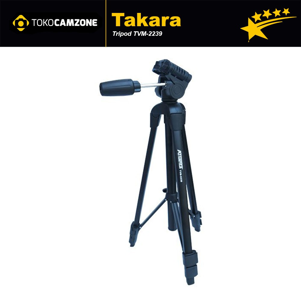 Takara Eco 193a Video Tripod Shopee Indonesia 233a Lightweight