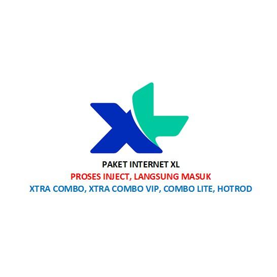 PAKET INTERNET KUOTA XL (XTRA COMBO, XTRA COMBO VIP, COMBO LITE, HOTROD) MURAH!! 30GB, 40GB, 70GB