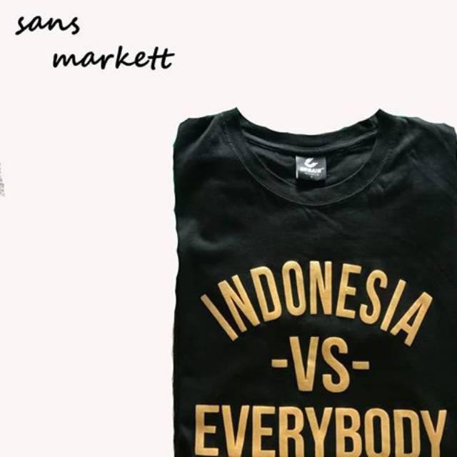Baju Indonesia Vs Everybody Original By Urbain Inc Shopee Indonesia