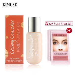 KIMUSE Bedak Foundation Cair Warna Matte