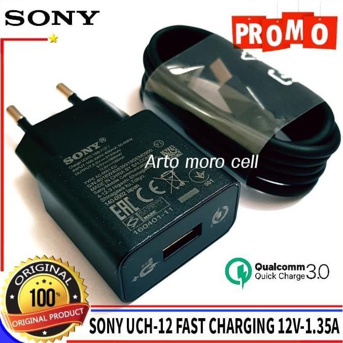 Charger Sony Xperia Z1 Z2 Z3 Z4 Z5 UCH12 ORIGINAL 100% Qualcomm 3.0 | Shopee Indonesia