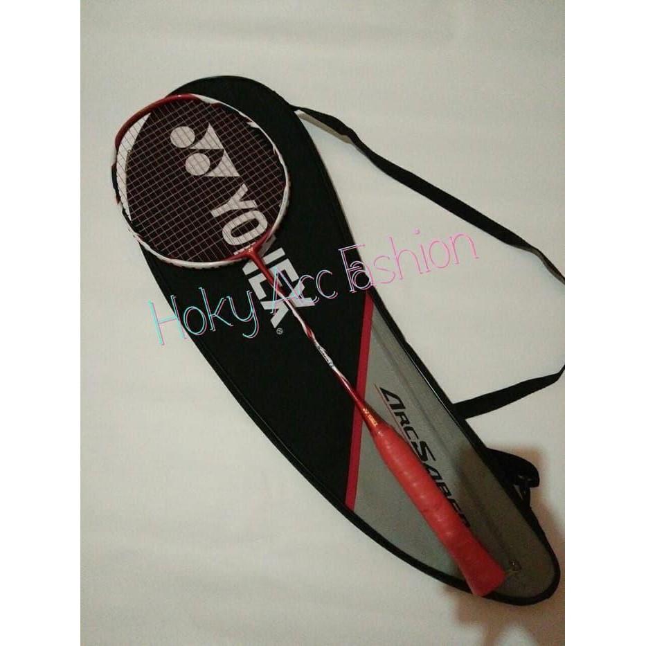 Raket Badminton Yonex Arcsaber 11 New Colour + Senar Aerobite Original MURAH/BAGUS/ORI/NO KW/MANTAP
