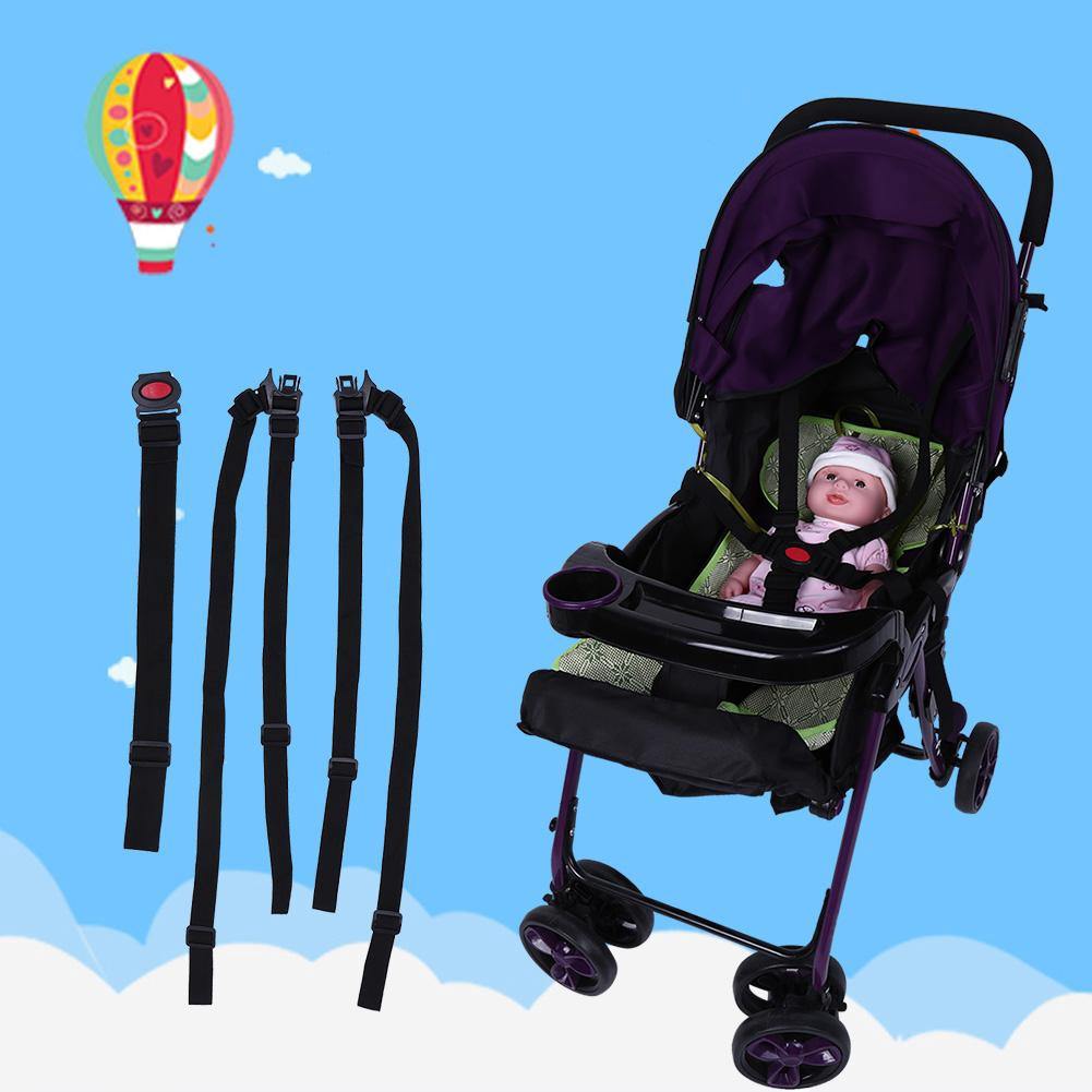Baby 5 Point Harness Baby Chair Stroller Safety Belt Pram Buggy Strap for Children Dining Chair High Chair Replacement