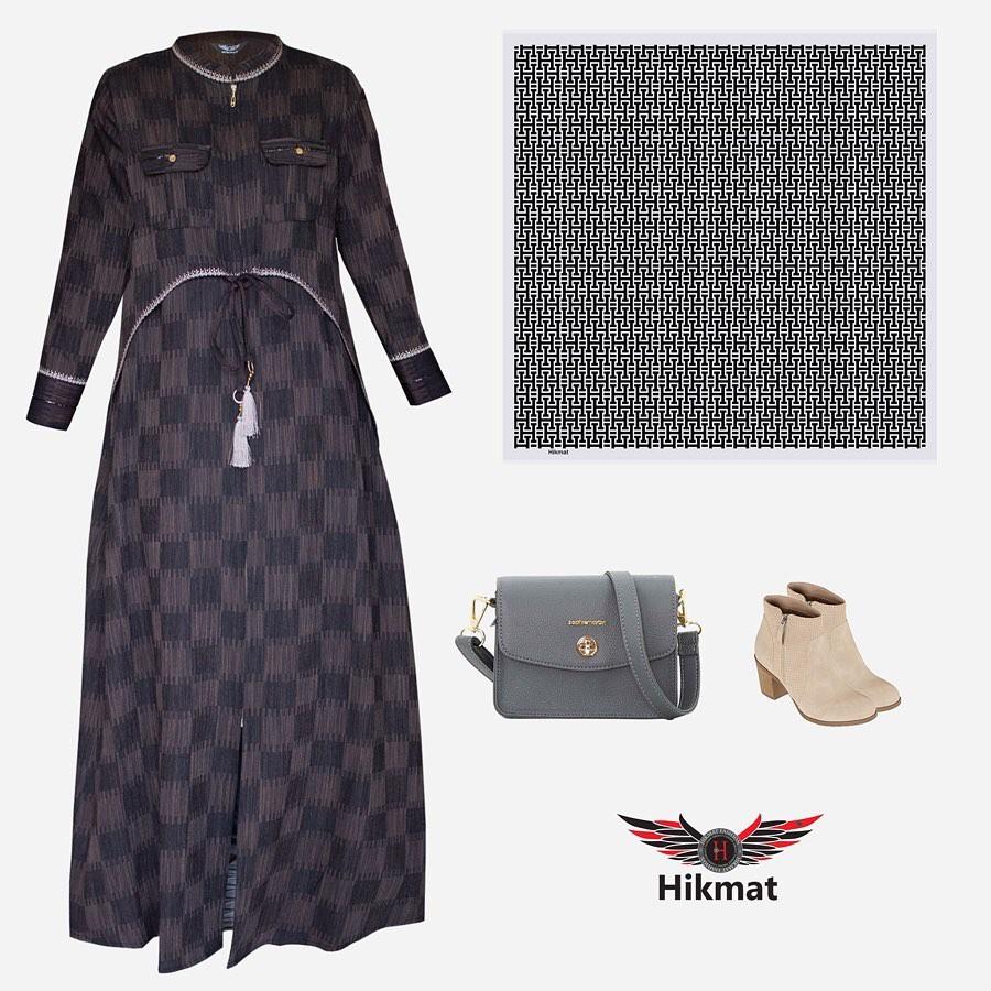 Neniku Hikmat Fashion C9926 Brown Model Terbaru 2020 Original Cantik Dang Simpel Shopee Indonesia