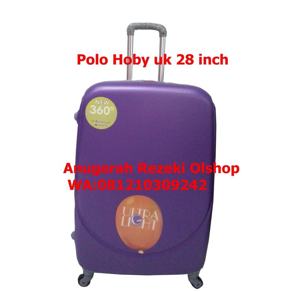 Tas Koper Polo Hoby Ukuran 28 Inch Tipe 004 4572 Shopee Indonesia Abs 4 Roda 22 Inci  Pabrik