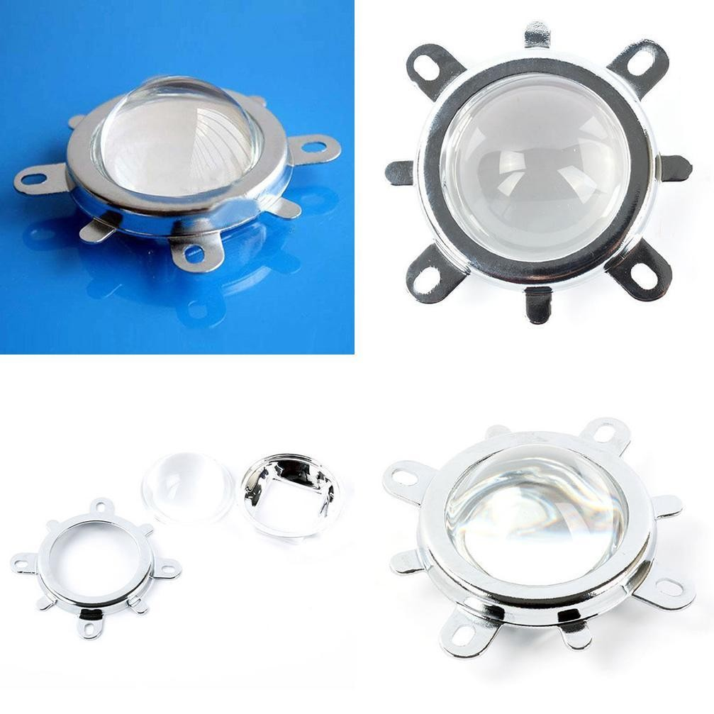 50mm Reflector Collimator Fixed Bracket For 20W-100W High Power LED 44mm Lens