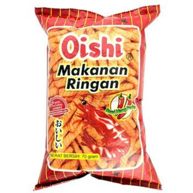 Oishi Makanan Ringan 70 Gram Shopee Indonesia