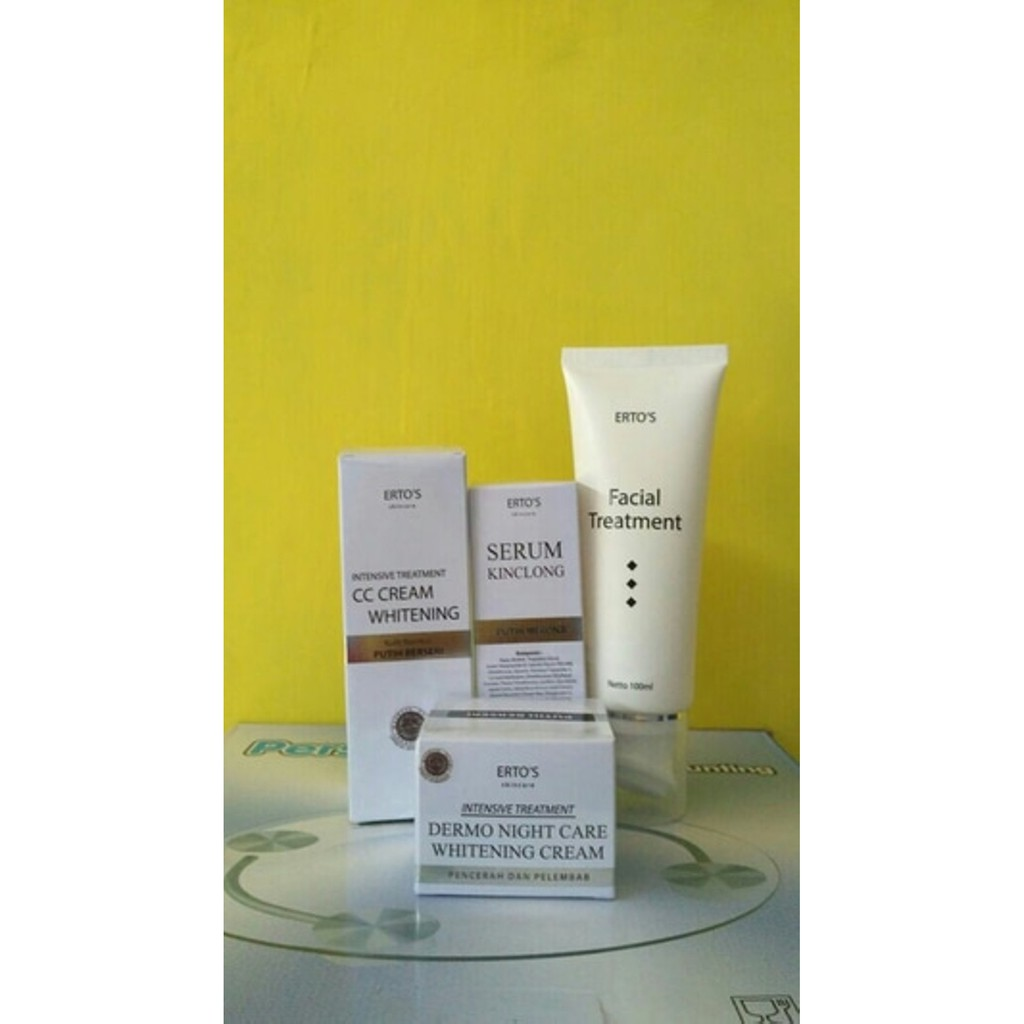 Paket Ertos Facial Treatmen Serum Kinclong Cc Cream Shopee 01 Indonesia
