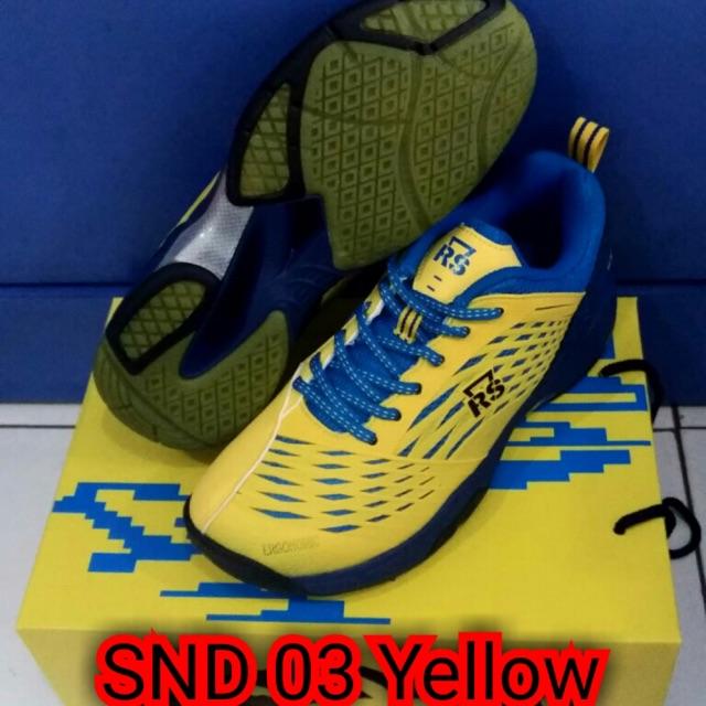 Sepatu Badminton Rs Snd Limited Black Yellow Original - Info Harga ... d2c08f984f