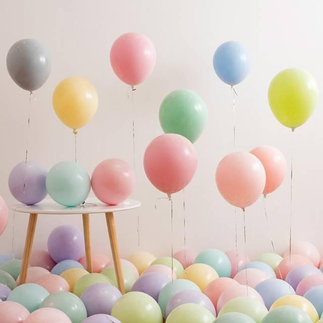 Balon doff warna pastel 10 inch/ balon karet macaron | Shopee ...