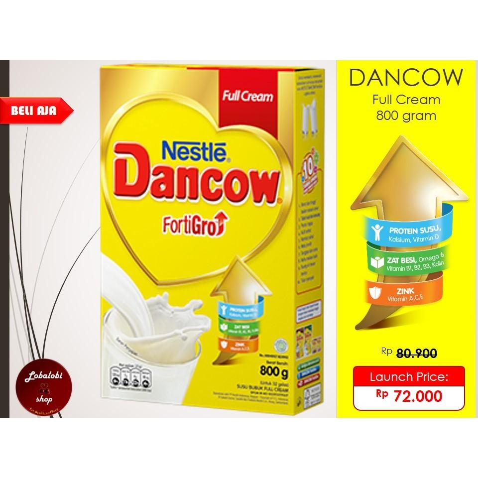 Dancow Full Cream 400 Gram Beli Harga Murah Fortigro Instan Coklat 800g Kemasan 400gram Instant Dan Shopee Indonesia
