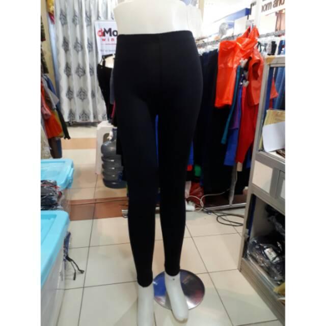 Celana Legging Wanita Putih Dan Hitam Bahan Kaos Spandex Spandek Size L Xl Dan Xxxl Shopee Indonesia