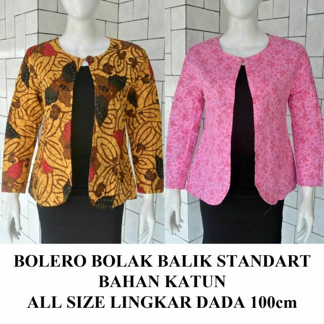 Batik Solo Bolero Bolak Balik 2 Kode ABCDE PS Batik Amanah Surakarta 75.000   4faa5212e3