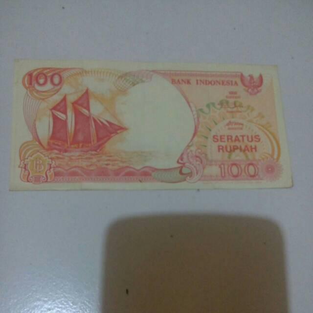 Uang lama 100 rupiah tahun 1992