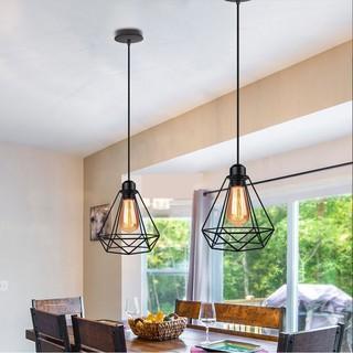 kap lampu gantung hias minimalis diamond dekorasi rumah