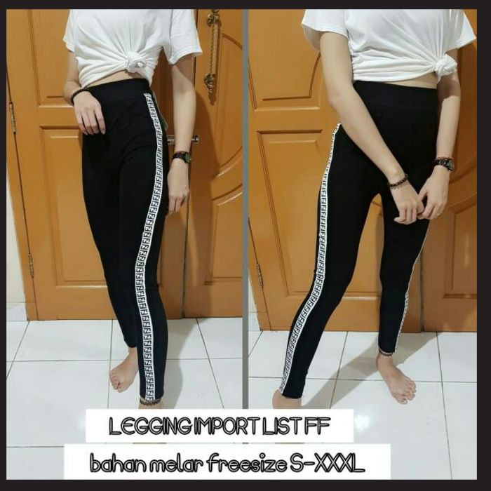 Celana Wanita Legging Import Legging Wanita Legging Kekinian Legging Distro Lengging Murah Shopee Indonesia