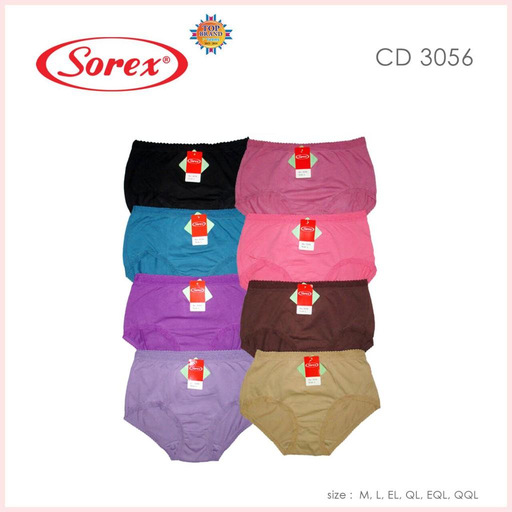 Celana Dalam Wanita Sorex 3056 Bahan Katun Lembut Termurah M - XXXXL ... 5dfe2950f1