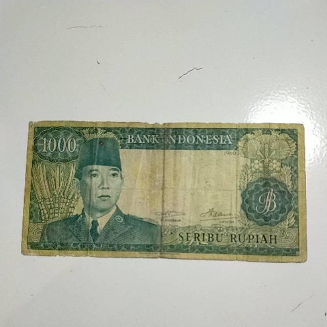 uang lama 1000 soekarno