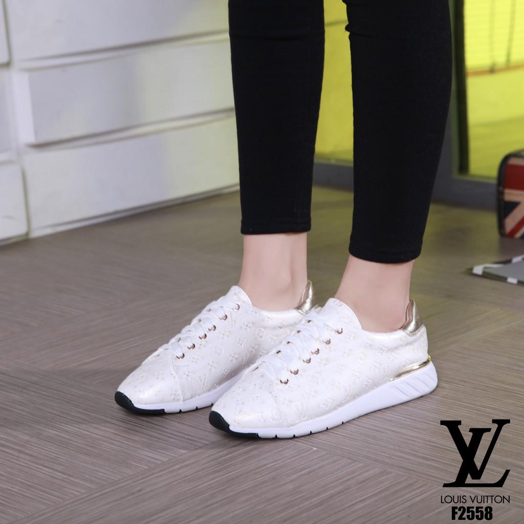 25b265a2244 SEPATU Louis Vuitton Sneakers Shoes F2558 TI 15 impor batam reseller murah  wedges sport cantik