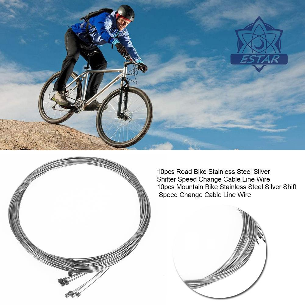 10x Inner Gear Cable Wire Stainless Steel Bike Cycle Bicycle Universal