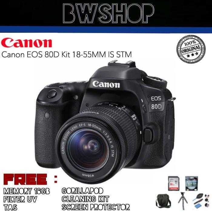 """""""KD"""" Canon Eos 80D KIT 18-55MM / EOS 80D / CANON 80D"""