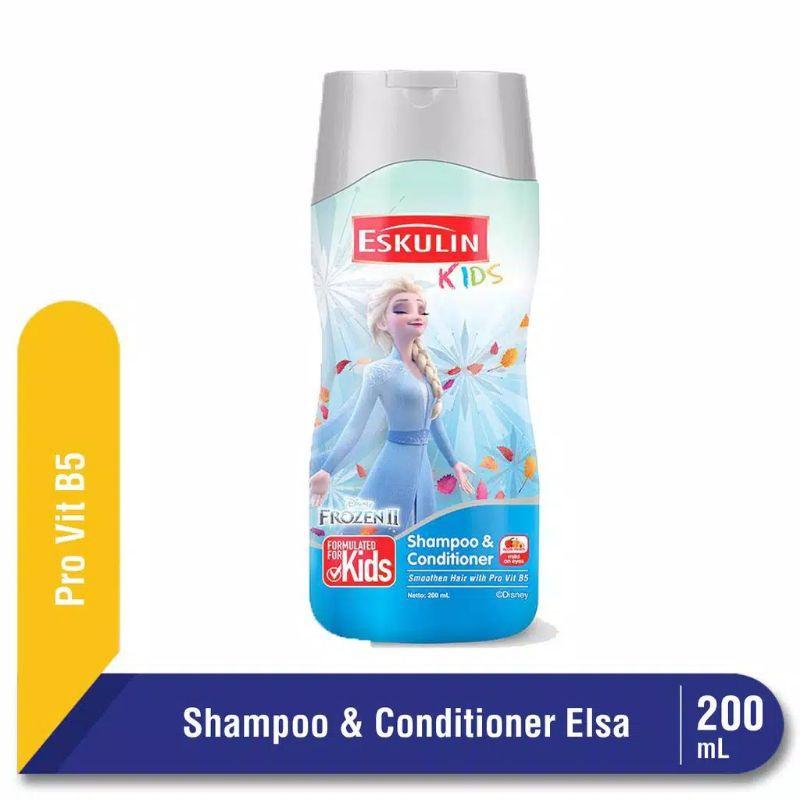 Eskulin Kids Shampoo Elsa 200 ml Botol