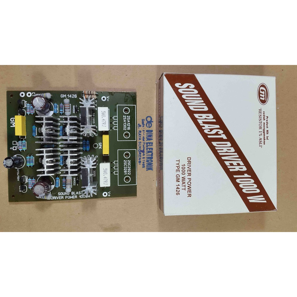 Kit Driver Sanken Power 400 Watt Stereo Sn006 Shopee Indonesia Indonesias Legendary Diy Amplifier 150w Ocl