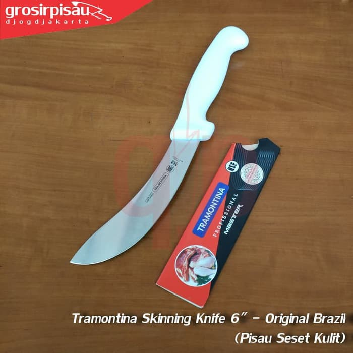 Pisau Seset Kulit Tramontina Skinning Knife 6 Inch - Original Brazil | Shopee Indonesia