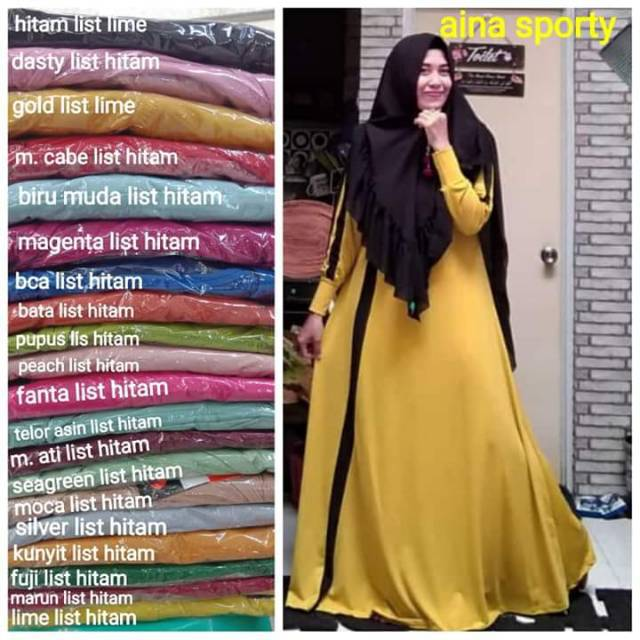 Indonesia Sporty Ainun Gamis Shopee Jersey