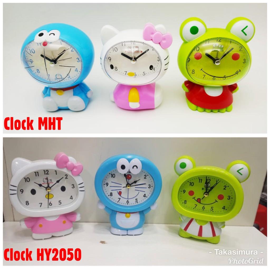 ALARM Untuk BANGUN SAHUR SUBUH Clock HY2050 MHT Doraemon Hello Kitty Keropi Jam Weker Beker