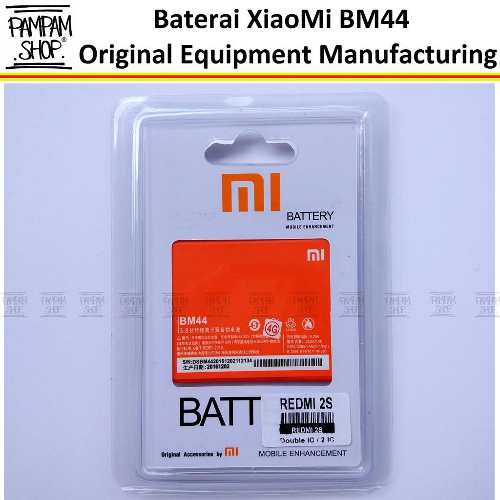 Baterai Double Power Battery Xiaomi Redmi 1S/2S/2 Prime/BM44 Batre Log On Dobel Power/IC   Shopee Indonesia