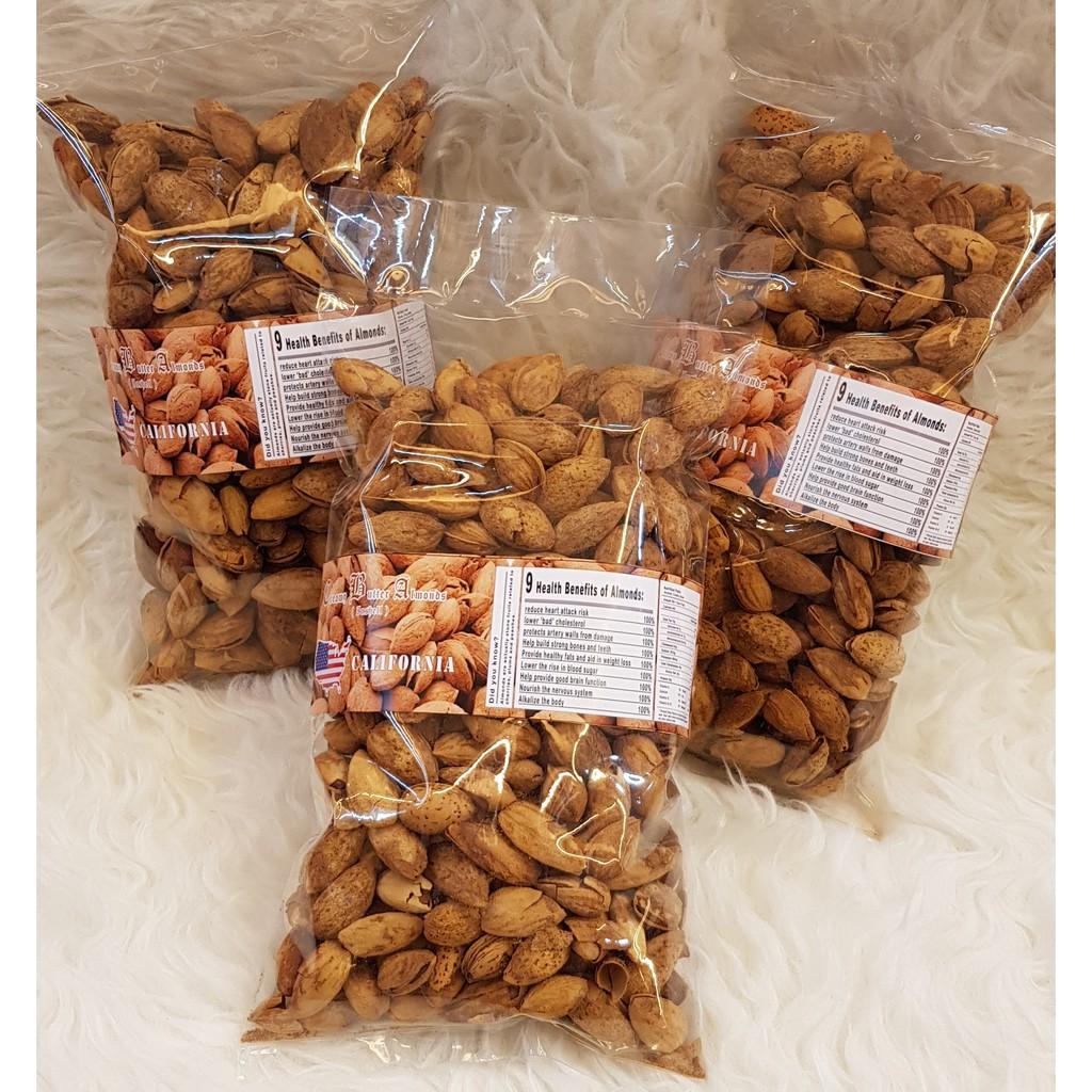 Beli Roasted Almond Whole 500gr Panggang Matang Ukuran Slice 250gr Kacang Mentah Irisan Besar 27 30 Tanpa Cangkang Harga Lebih Murah Bersama Teman Shopee Indonesia