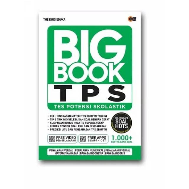 Big Book Tps Tes Potensi Skolastik The King Eduka Shopee Indonesia