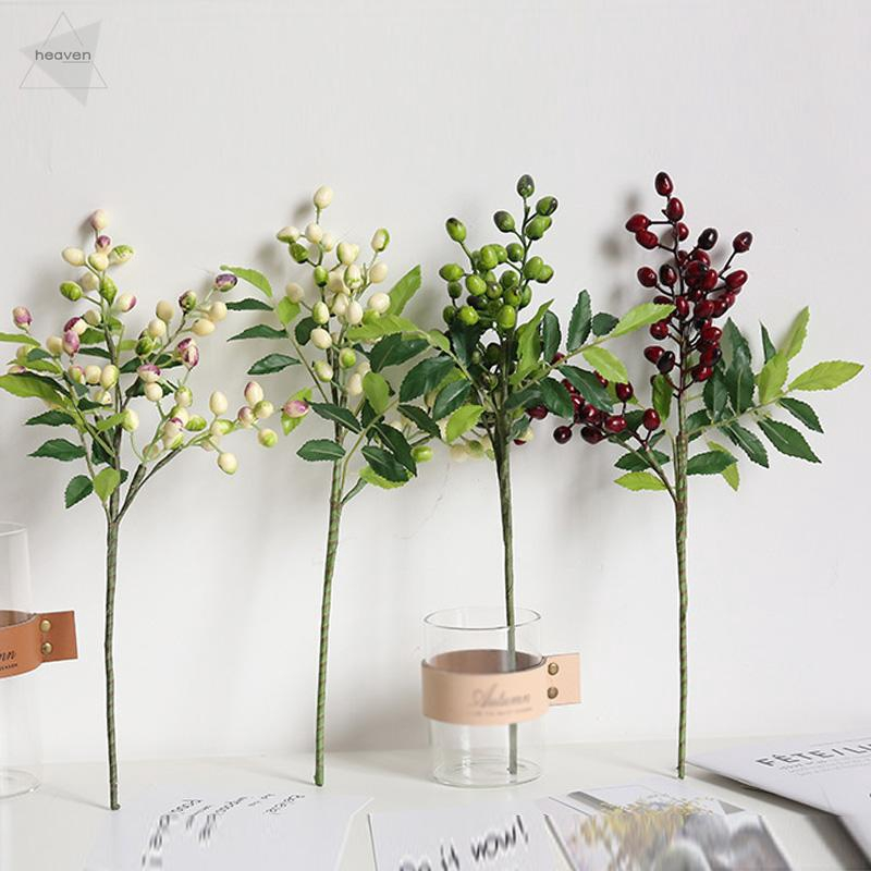 Chic PVC Artifical Eucalyptus Fake Flower Plant Home Wedding Party Decoration