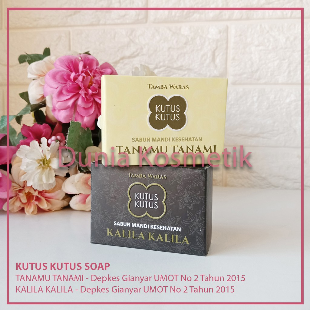 Original Sabun Kalila Herbal Kutus Tamba Waras Kesehatan Dari Bali Shopee Indonesia