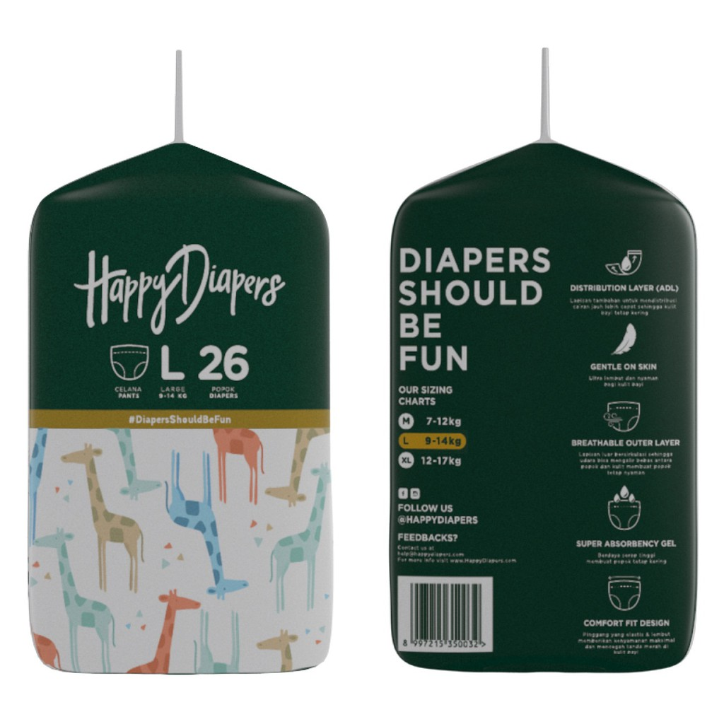 Popok Bayi Sekali Pakai Mamamia Model Celana Diapers Pants Isi 34 Uk Bp 6xl Adult Diaper Dewasa Ukuran Xl 6pcs M Shopee Indonesia