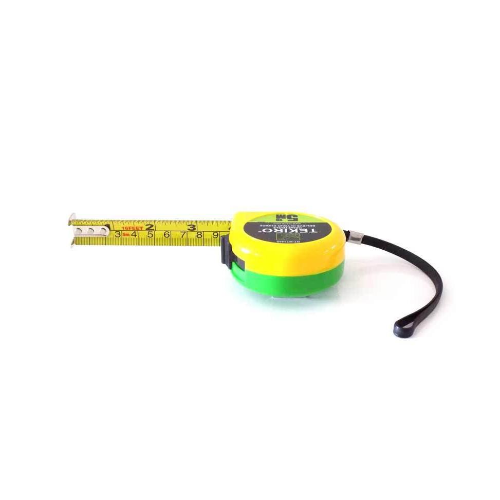 Meteran 5 Meter Tekiro Measurement Tape Metres Alat Ukur Panjang M