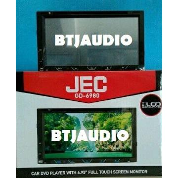 "Jec Gd-6980 - 6.95"" Double Din Dvd/Tv Monitor Touch Screen 