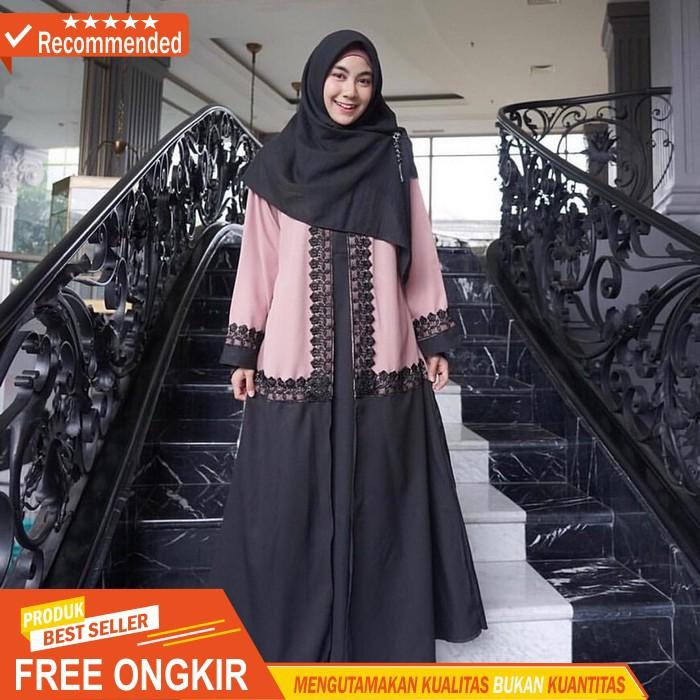 BSQUADS Dwina Abaya Sy Abaya Wanita Mewah Abaya Syari Elegan Baju Abaya Wanita Murah